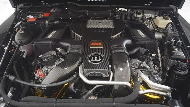 GTC German Tuning Corporation Brabus 850 WIDESTAR based on G63 motor