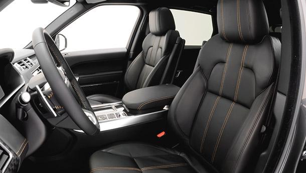 GTC German Tuning Corporation Startech Range Rover Sport interior