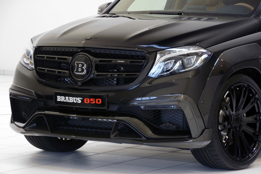 BRABUS 850 GLS63 Carbon Fiber Front