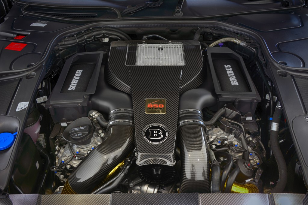 BRABUS 850 HP Stroker Engine S63