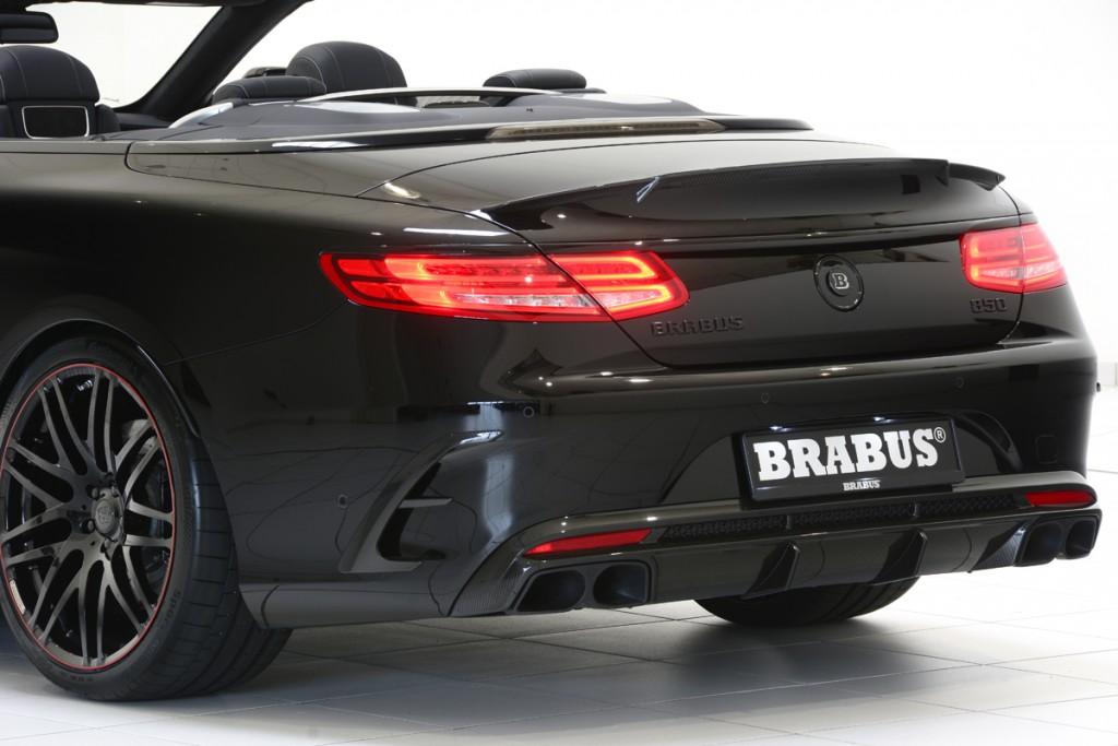 BRABUS 850 S63 Cabrio Carbon Fiber Diffuser