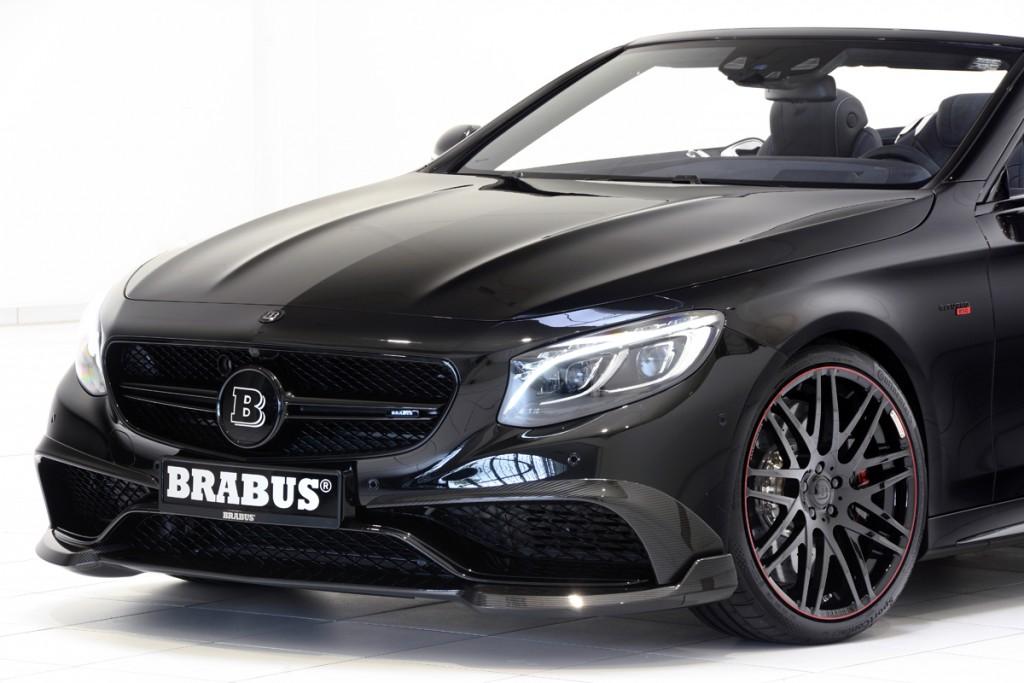 BRABUS 850 S63 Cabrio Carbon Fiber Front