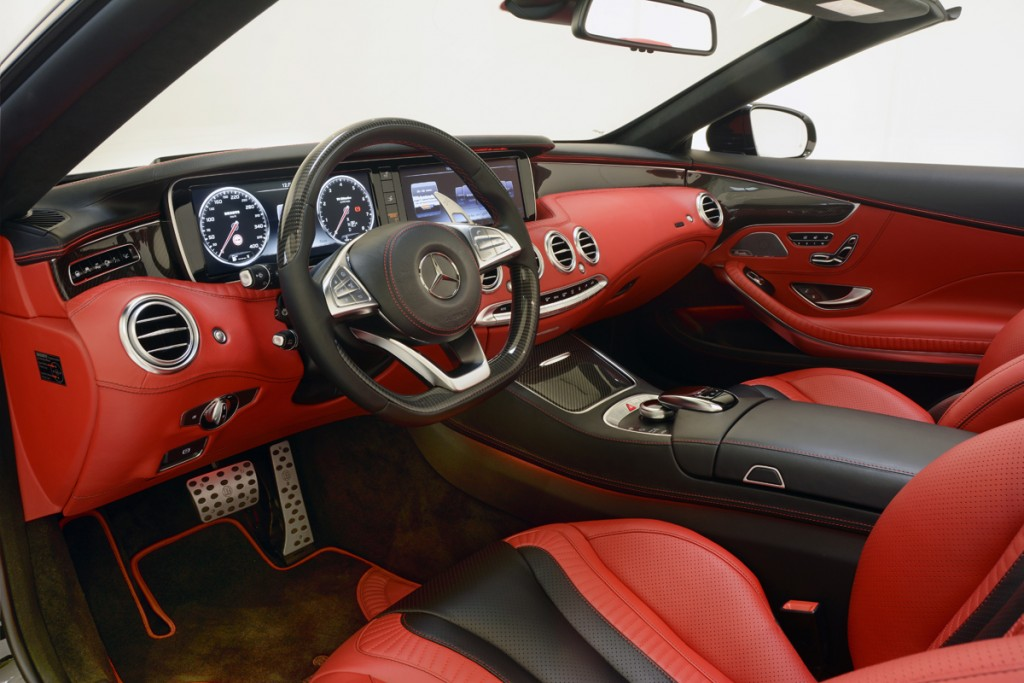 BRABUS 850 S63 Cabrio Leather Interior