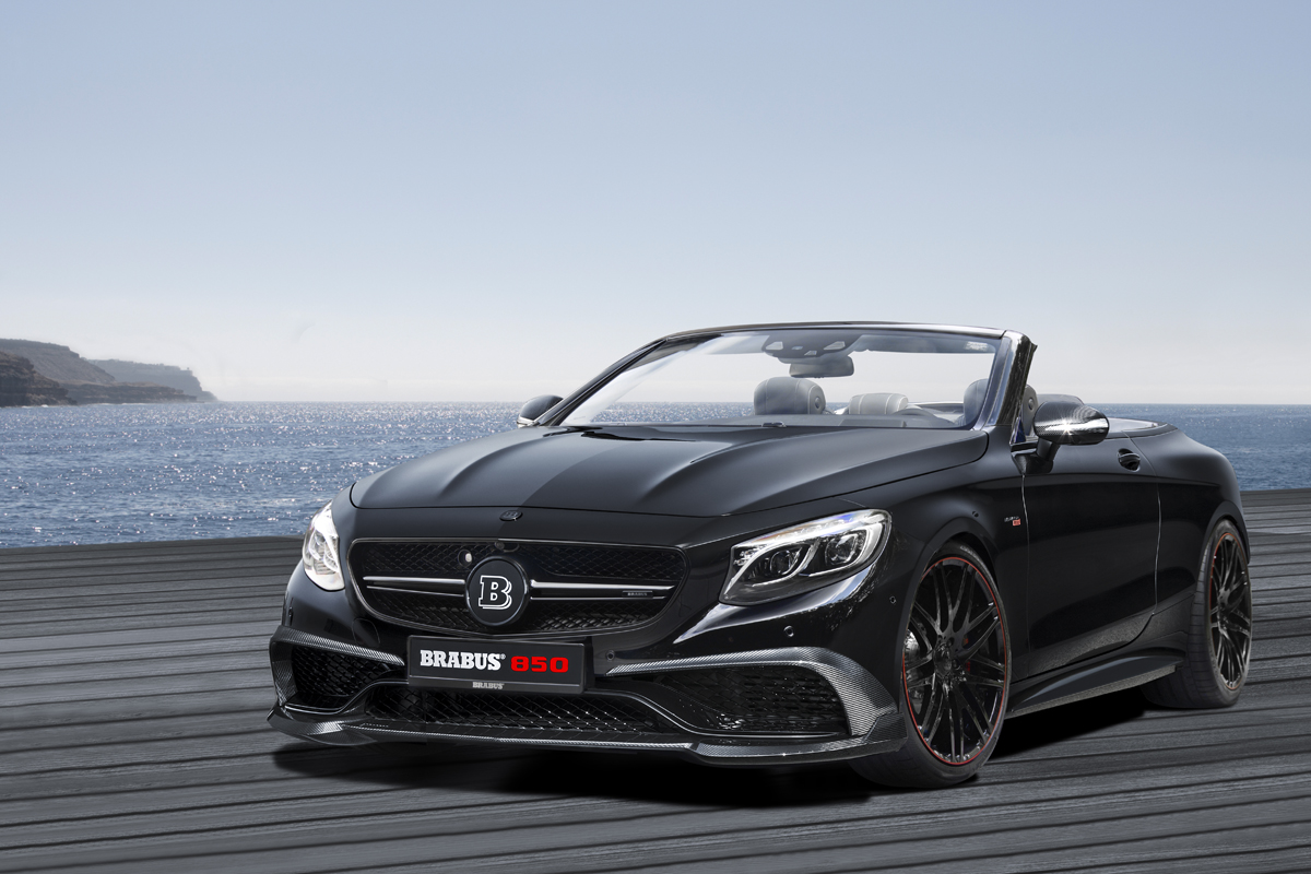 S 63 Amg 2017 >> BRABUS 850 6.0 Biturbo Cabrio based on the Mercedes S 63 | GTC