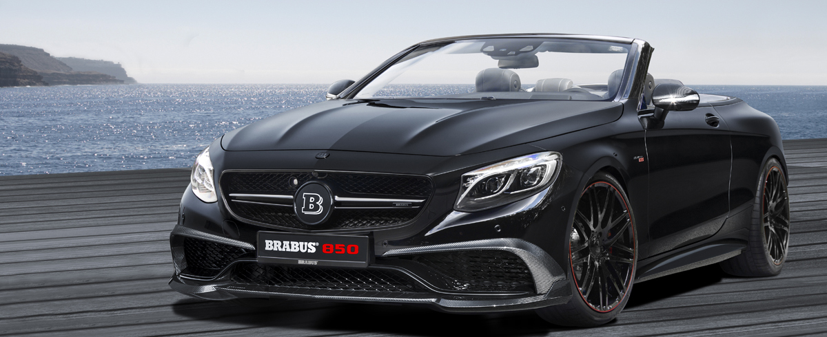 BRABUS 850 S63 Coupe Cabrio