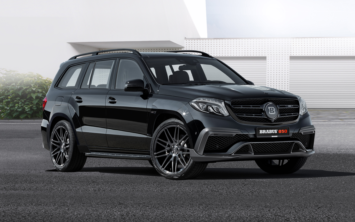Brabus 850 Xl Widestar Based On The Mercedes Benz Gls63 Gtc