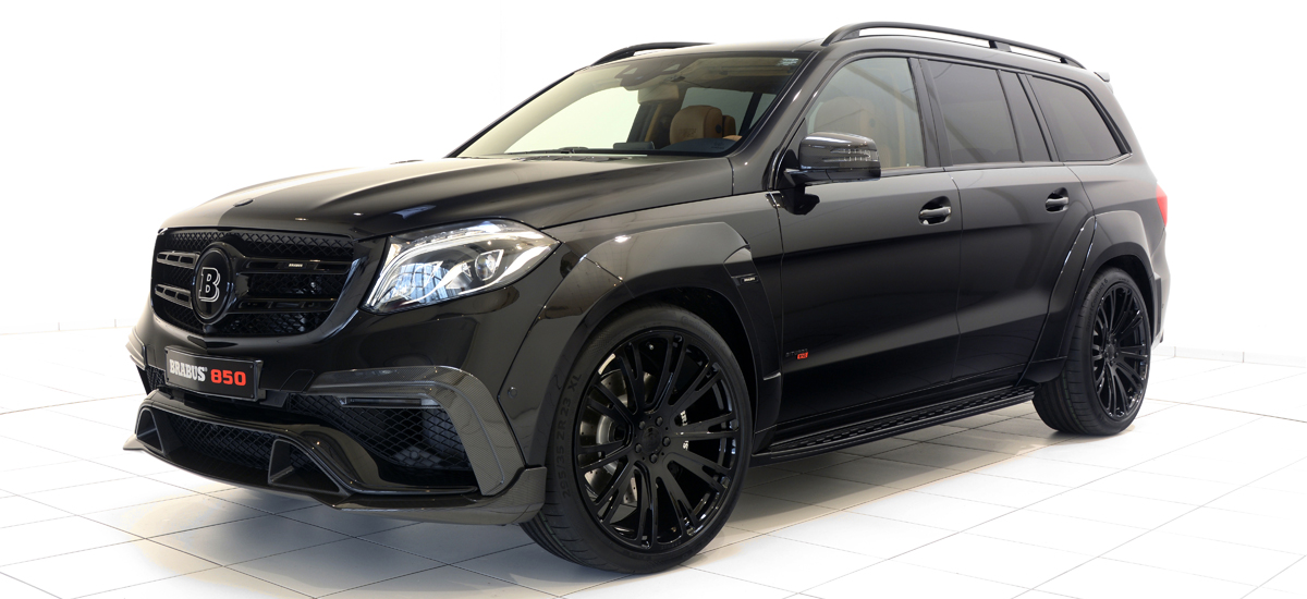 BRABUS 850 XL WIDESTAR based on the Mercedes-Benz GLS63 | GTC