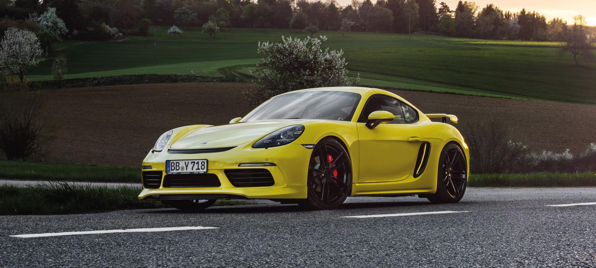 Techart Tunes The New Porsche 718 Cayman Gtc